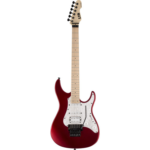 ESP LTD SN-200FR Electric Guitar (Black Cherry Metallic Satin)