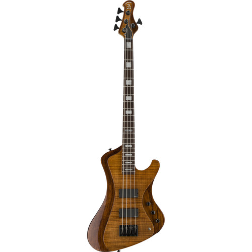 ESP LTD STREAM-1004FM 4-String Electric Bass (Walnut Brown)