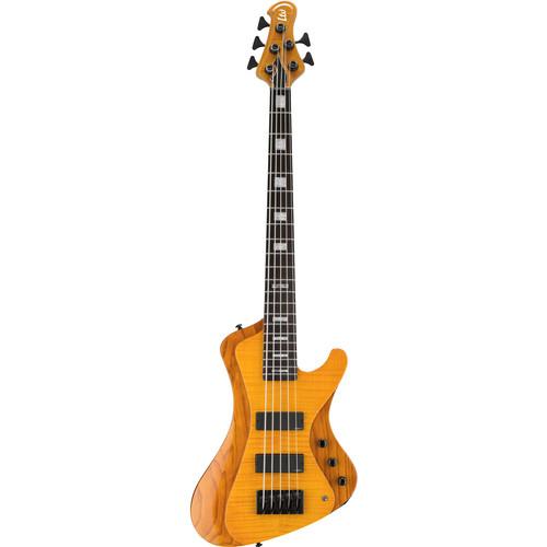 ESP LTD STREAM-1005FM 5-String Electric Bass (Honey Natural)