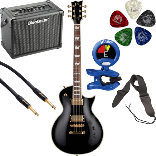 ESP LTD EC-256 Electric Guitar Starter Kit (Black)