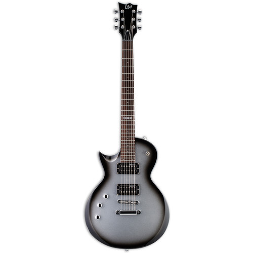 ESP LTD EC-50 Electric Guitar Starter Kit (Left-Handed, Silver Sunburst)