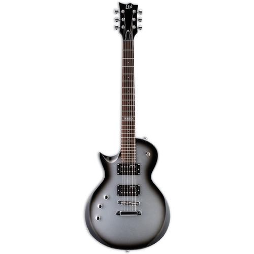 ESP LTD EC-50 Electric Guitar Home Recording Starter Kit (Left Handed, Silver Sunburst)
