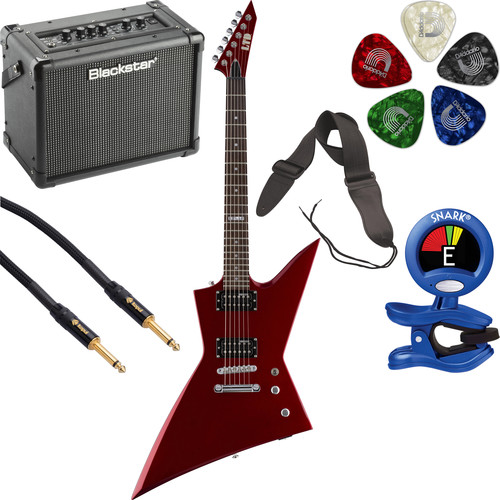 ESP LTD EX-50 Electric Guitar Starter Kit (Black Cherry Metallic)