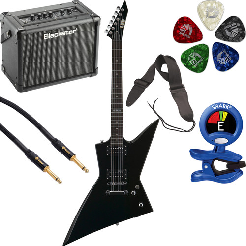 ESP LTD EX-50 Electric Guitar Starter Kit (Black)