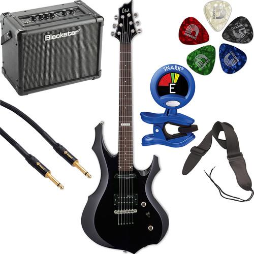 ESP LTD F-10 Electric Guitar Starter Kit (Black)