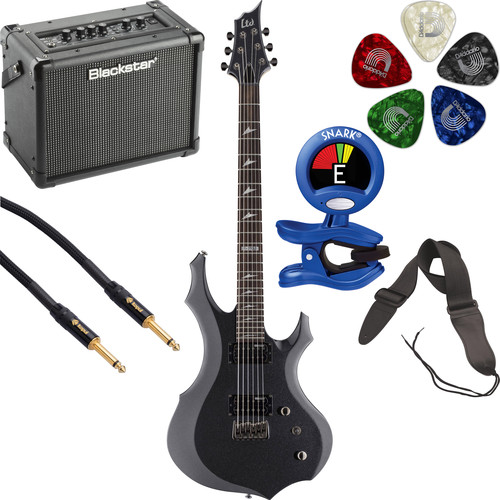ESP LTD F-200B Baritone Electric Guitar Starter Kit