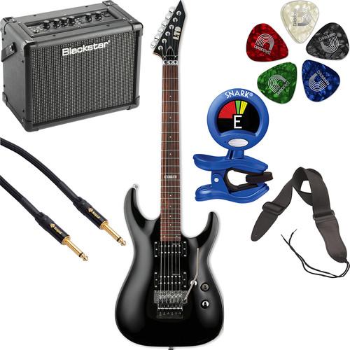 ESP LTD MH-50 Electric Guitar Starter Kit (Black)