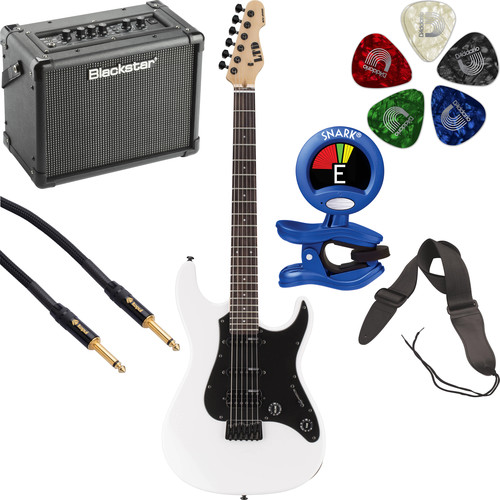 ESP LTD SN-200HT Electric Guitar Starter Kit (Snow White)