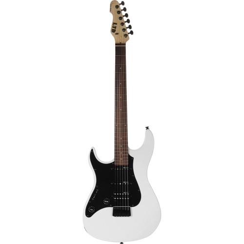ESP LTD SN-200HT Electric Guitar Starter Kit (Left-Handed,Snow White)