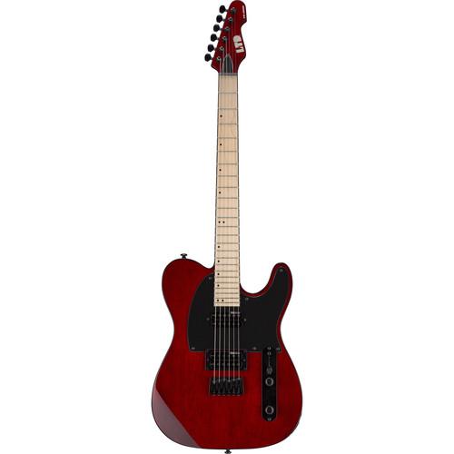 ESP LTD TE-200 Electric Guitar Starter Kit (See-Thru Black Cherry)