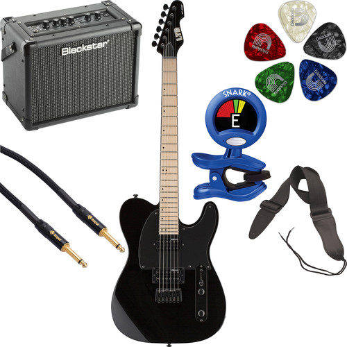 ESP LTD TE-200 Electric Guitar Starter Kit (Black)