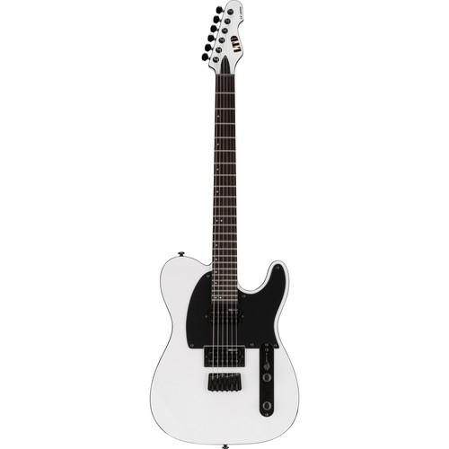 ESP LTD TE-200 Electric Guitar Home Recording Starter Kit (Snow White)