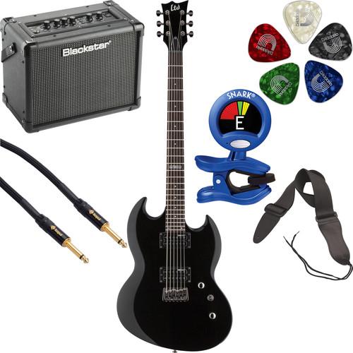ESP LTD Viper-200B Electric Guitar Starter Kit