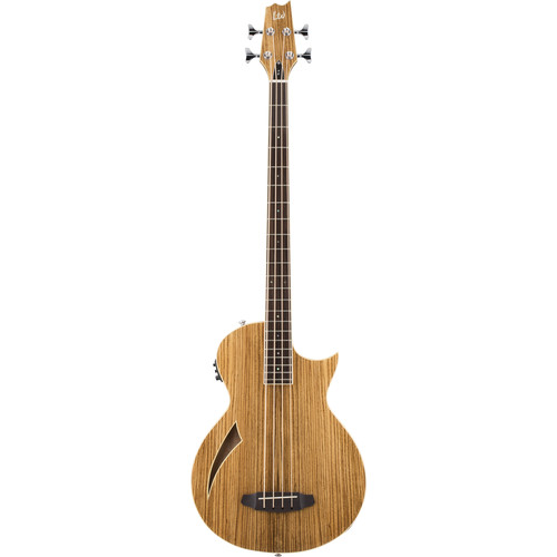 ESP LTD TL-4Z Thinline Series Acoustic/Electric Bass (Natural Gloss)