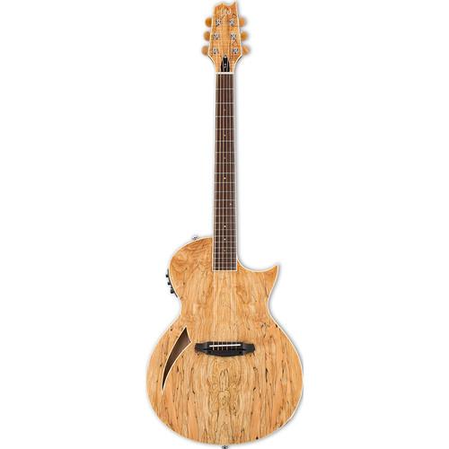 ESP LTD Thinline Series TL-6SM Acoustic/Electric Guitar (Natural Gloss)