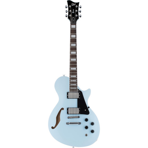 ESP LTD PS-1 Xtone Series Semi-Hollow Body Electric Guitar (Sonic Blue)
