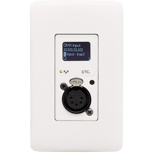 ETC Response MK2 1-Port Wall-Mount Gateway XLR Output - White