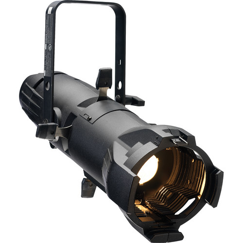 ETC Source Four jr Fixture with 36° Lens and Dimmer (Twist Lock Connector, Black)