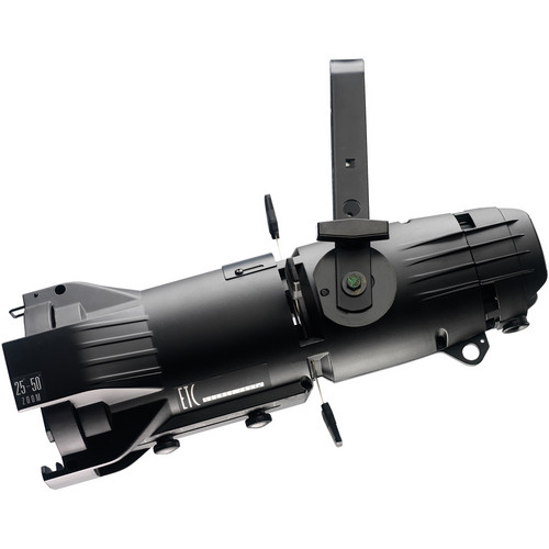 ETC Source Four Jr Zoom 25 to 50° Ellipsoidal Lighting Fixture with Dimmer (Twist Lock Connector, Black)