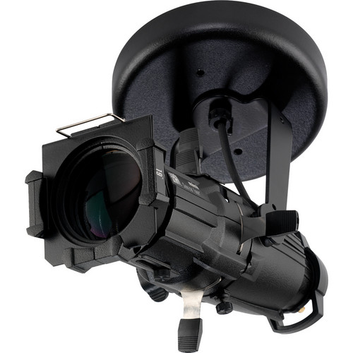 ETC Source Four Mini with 19° Lens (Canopy Mount, Black)