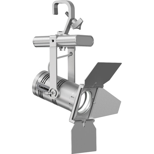 ETC Irideon WLZ Gallery 2700 K (90+ Cri) Fixture With Dmx Control/ Portable With Edison Conn- Silver