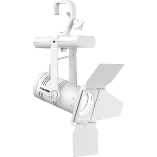 ETC Irideon WLZ Gallery 3000 K (90+ Cri) Fixture With Dmx Control/ Portable With Edison Conn- White