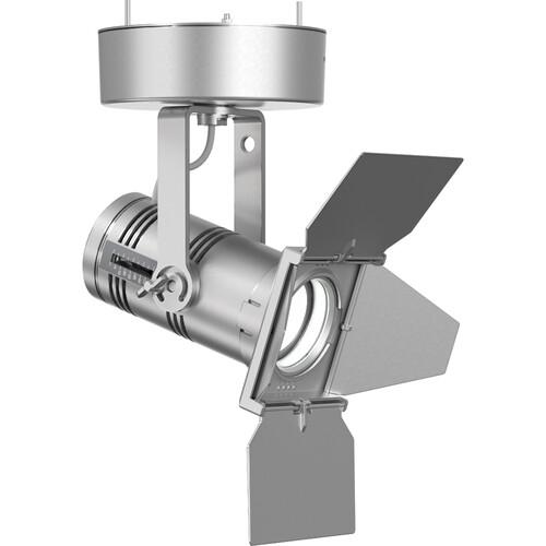 ETC Irideon WLZ 3000 K (80+ Cri) Fixture With DMX Control/ Canopy Mount - Silver