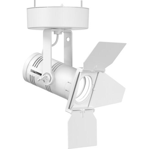 ETC Irideon WLZ 4000 K (80+ Cri) Fixture With 0-10V Control/ Canopy Mount - White