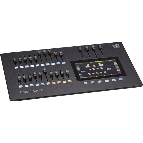 ETC CS20 20-Fader ColorSource Lighting Console (40-Channel/Device)