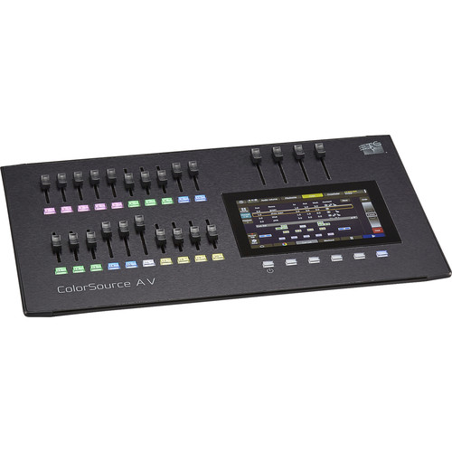 ETC 20-Fader ColorSource AV Console with Network, Audio, and Video
