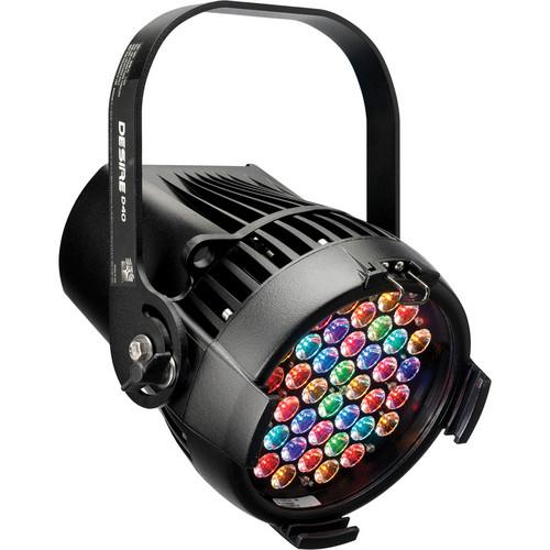ETC Selador Desire D40XT Vivid LED Fixture with Edison Connector (Black)
