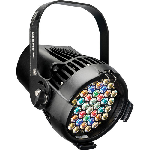 ETC Desire D40XT Studio HD LED Fixture with Bare Power Lead (Black)