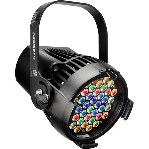 ETC Selador Desire D40XT Lustr+ LED Fixture with Stage Pin Connector (Black)
