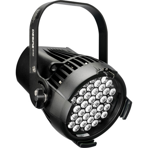 ETC Desire D40XT Studio Daylight LED Fixture with Edison Connector (Black)