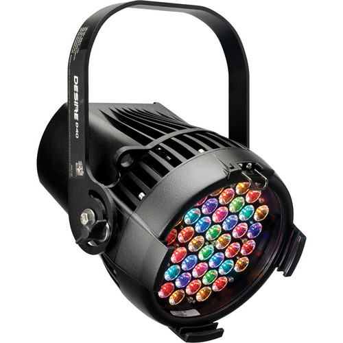 ETC Selador Desire D40 Vivid LED Fixture with Stage Pin Connector (Black)
