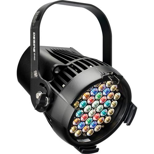 ETC Desire D40 Studio HD LED Fixture with TwistLock Connector (Black)