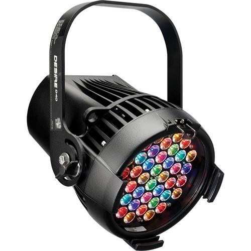 ETC Selador Desire D60 Vivid LED Fixture with Bare Power Lead (Black)