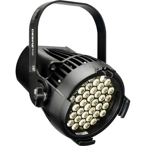 ETC Selador Desire D60 Studio Tungsten Luminaire with Edison Connector (Black)