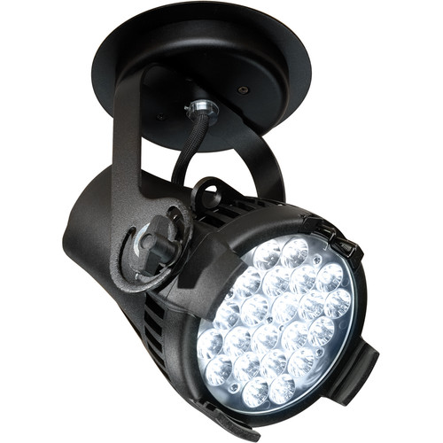 ETC Desire D22 Studio HD Wash Fixture (Black, Canopy Mount)