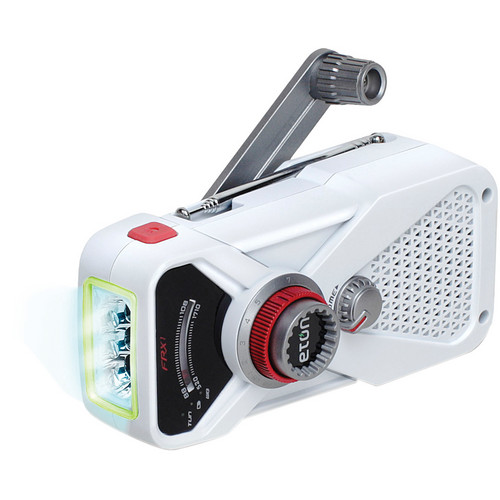 Eton FRX1 Hand Turbine Radio with LED Flashlight