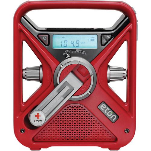 Eton FRX3 Hand Turbine Radio with LED Flashlight and USB Smartphone Charger