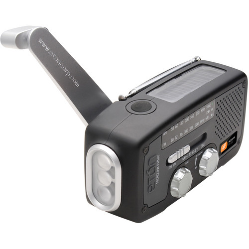 Eton MICROLINKFR160 Multi-Purpose Outdoor Radio - (Black)