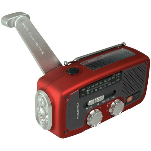 Eton MICROLINKFR160 Multi-Purpose Outdoor Radio - (Red)