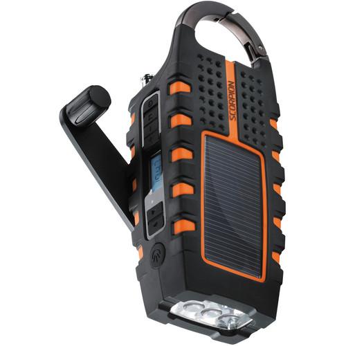 Eton Scorpion Solar Powered, All-Terrain, Multifunction Radio Flashlight