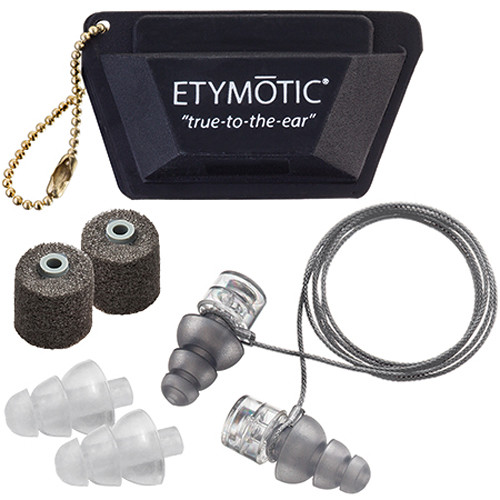 Etymotic Research ER20XS Universal Fit High-Fidelity Earplugs (Polybag Packaging)