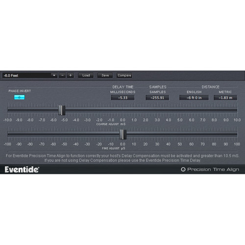 Eventide Precision Time Align - Audio Alignment Plug-In (Download)