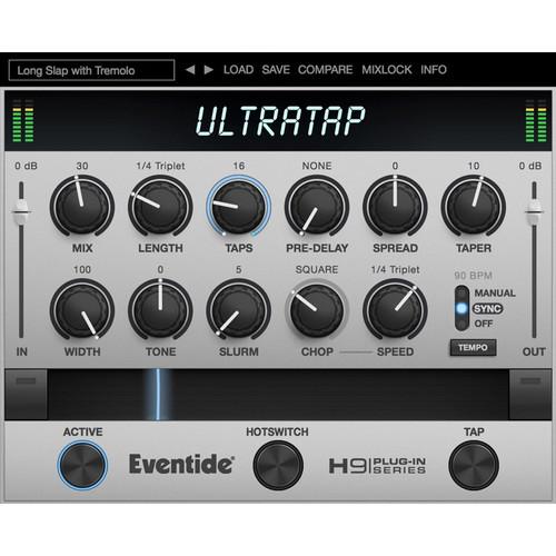 Eventide UltraTap - Multi-Tap Delay Plug-In (Download)