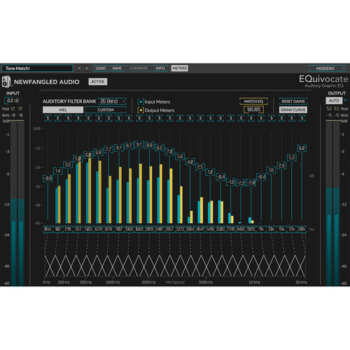 Eventide EQuivocate - Graphic EQ For Mixing and Mastering (Download)