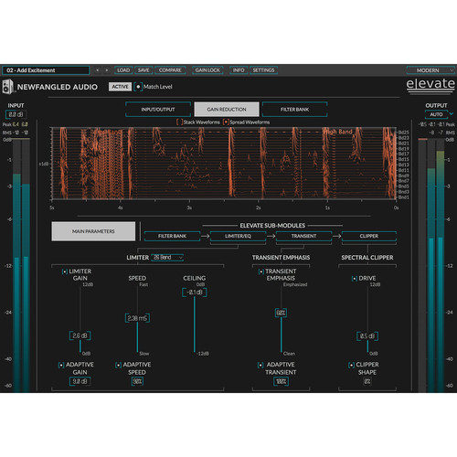 Eventide Elevate Bundle - Multiband Limiter and Clipper for Mixing and Mastering (Download)