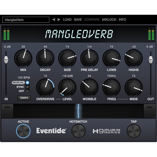 Eventide MangledVerb - Distorted Reverb for Mixing and Live Purposes (Download)